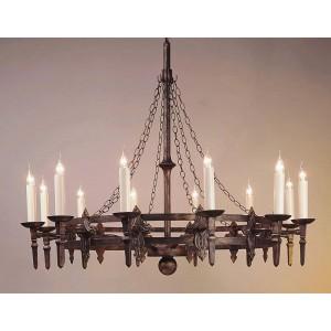 Impex Baronial iron medieval wheel  sc 1 th 225 & Iron Work - Lighting Mill azcodes.com