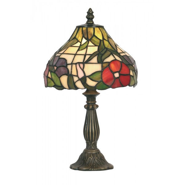 tiffany tiffany table lamps peonies tiffany style table lamp small. Black Bedroom Furniture Sets. Home Design Ideas