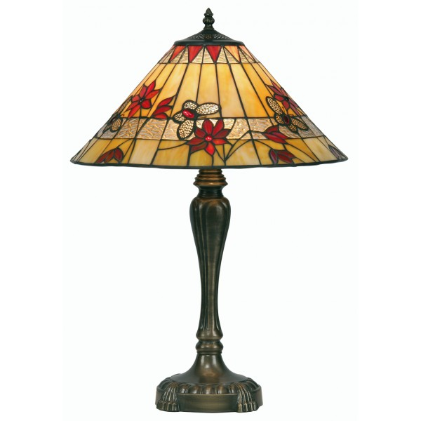 tiffany tiffany table lamps butterfly oaks tiffany style table. Black Bedroom Furniture Sets. Home Design Ideas