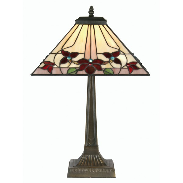 home table lamps camillo tiffany style table lamp large. Black Bedroom Furniture Sets. Home Design Ideas